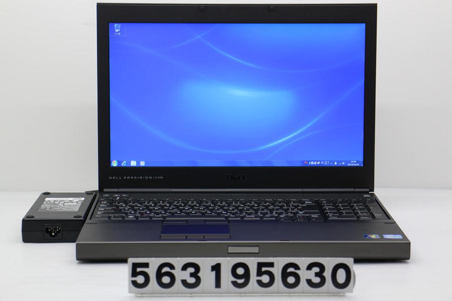 DELL Precision M4700 Core i7 3720QM 2.6GHz/16GB/256GB(SSD)/Multi/15.6W/FHD(1920x1080)/Win7/Quadro K1000M【中古】【20190327】