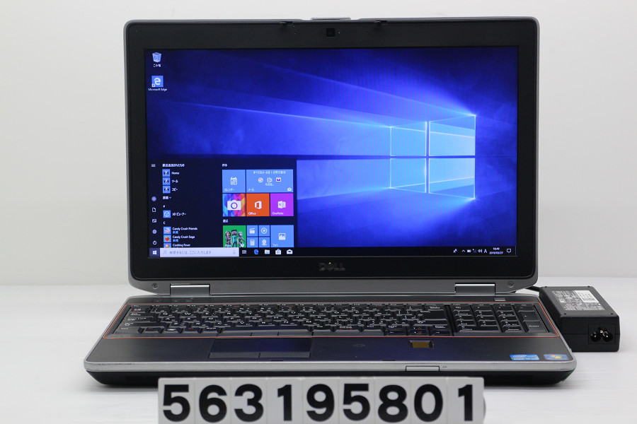 DELL Latitude E6520 Core i7 2640M 2.8GHz/4GB/256GB(SSD)/Multi/15.6W/WXGA++(1600x900)/Win10【中古】【20190328】