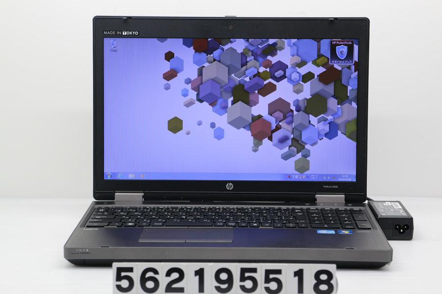 hp ProBook 6560b Core i5 2540M 2.6GHz/4GB/500GB/Multi/15.6W/FWXGA(1366x768)/RS232C/Win7【中古】【20190329】