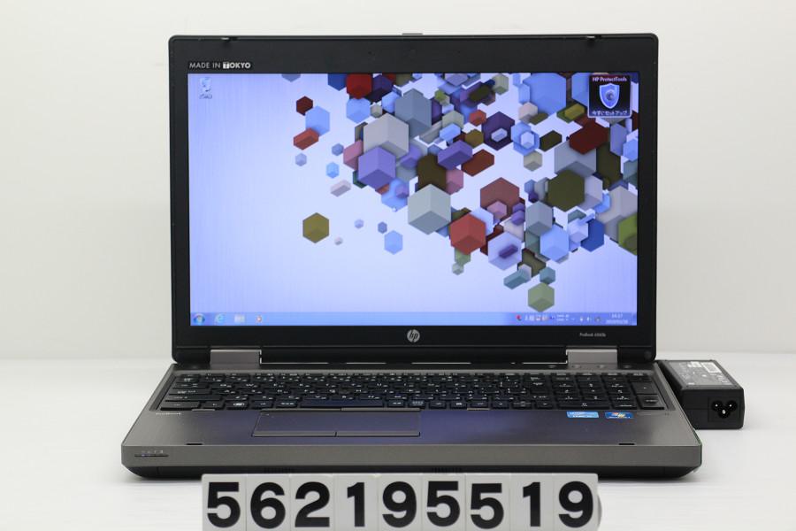 【ジャンク品】hp ProBook 6560b Core i5 2540M 2.6GHz/4GB/500GB/Multi/15.6W/FWXGA(1366x768)/RS232C/Win7 ファン異音【中古】【20190329】