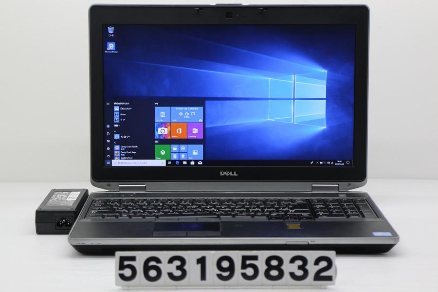 DELL Latitude E6530 Core i7 3540M 3GHz/4GB/256GB(SSD)/Multi/15.6W/WXGA++(1600x900)/Win10【中古】【20190402】