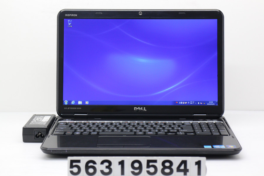 DELL Inspiron N5110 Core i5 2410M 2.3GHz/4GB/640GB/Multi/15.6W/FWXGA(1366x768)/Win7【中古】【20190402】