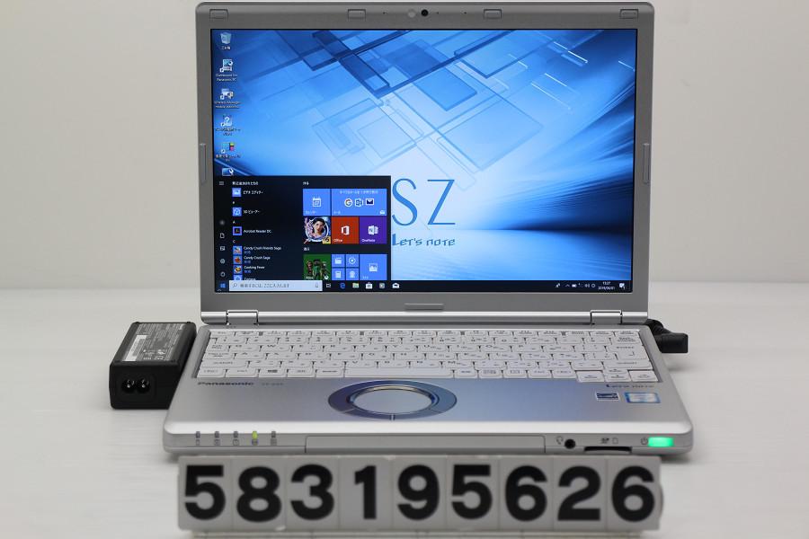Panasonic CF-SZ5ADAKS Core i5 6300U 2.4GHz/4GB/320GB/12.1W/WUXGA(1920x1200)/Win10【中古】【20190402】