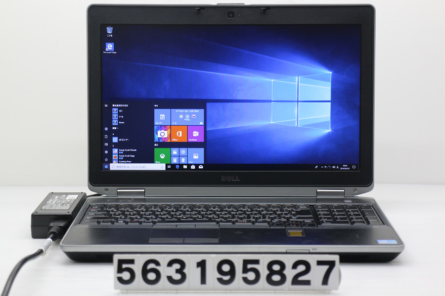 DELL Latitude E6530 Core i7 3540M 3GHz/4GB/256GB(SSD)/Multi/15.6W/WXGA++(1600x900)/Win10 バッテリー完全消耗【中古】【20190402】