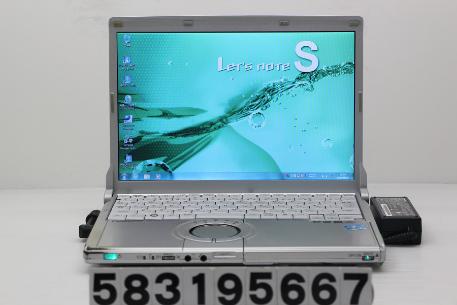 Panasonic CF-S10CWHDS Core i5 2520M 2.5GHz/4GB/320GB/Multi/12.1W/WXGA(1280x800)/Win7【中古】【20190405】