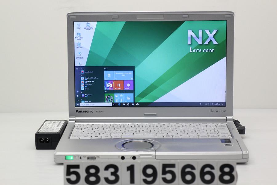 Panasonic CF-NX4GDJCS Core i3 5010U 2.1GHz/4GB/256GB(SSD)/12.1W/WXGA++(1600x900)/Win10【中古】【20190405】