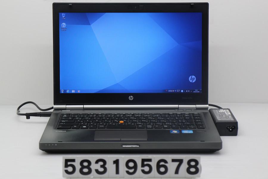 hp EliteBook 8470w Core i7 3610QM 2.3GHz/8GB/256GB(SSD)/Multi/14W/WXGA++(1600x900)/Win7/FirePro M2000【中古】【20190409】
