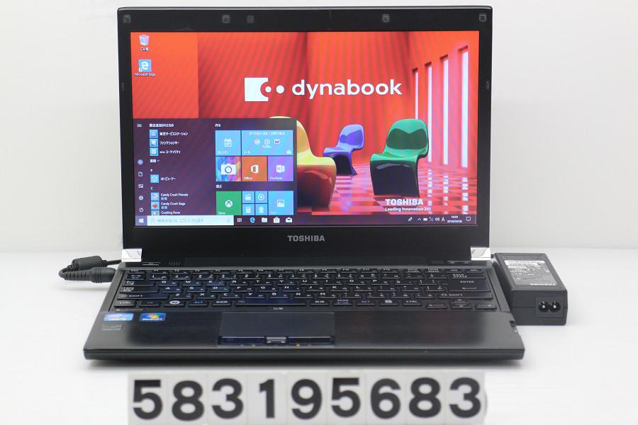 東芝 dynabook R731/E Core i5 2520M 2.5GHz/4GB/128GB(SSD)/13.3W/FWXGA(1366x768)/Win10【中古】【20190409】