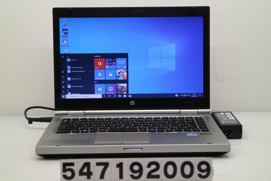 hp EliteBook 8470p Core i5 3320M 2.6GHz/4GB/256GB(SSD)/Multi/14W/FWXGA(1366x768)/Win10【中古】【20190821】
