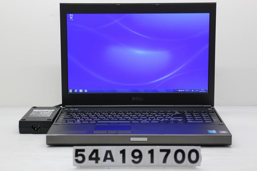 春夏新作モデル DELL Precision M4800 Core i7 4810MQ 2.8GHz/16GB/500GB/Multi/15.6W/FHD(1920x1080)/Win7/Quadro K2100M【】【20191025】, inter-actオンラインショップ 4e1bc3cc