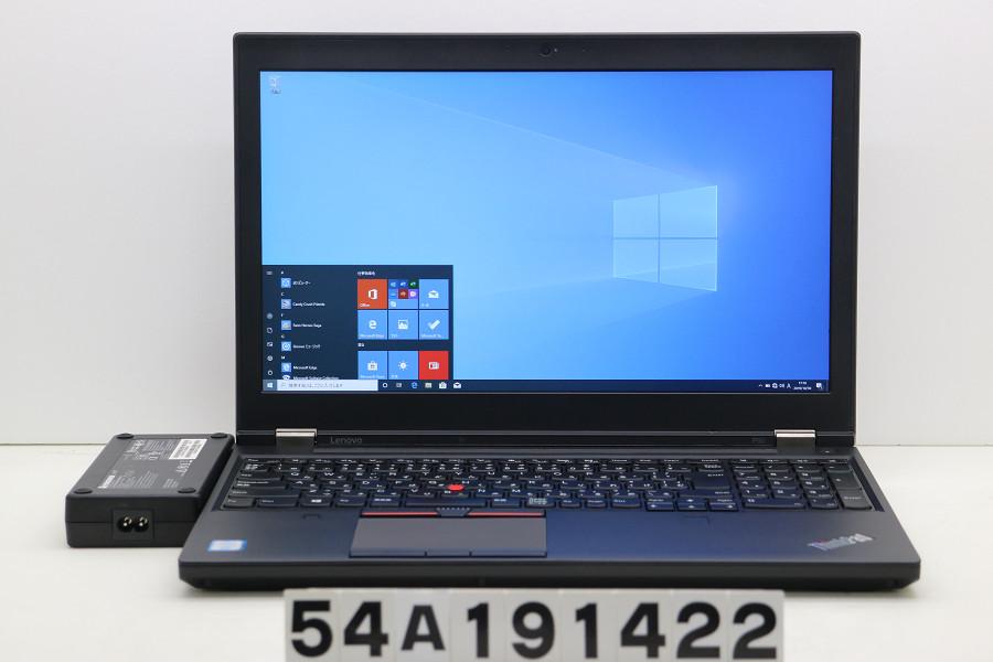 バーゲンで Lenovo ThinkPad P50 Core i7 6700HQ 2.6GHz/16GB/1TB/15.6W/FHD(1920x1080)/Win10/Quadro M1000M【】【20191031】, e-宝石屋 f0a0a2d1