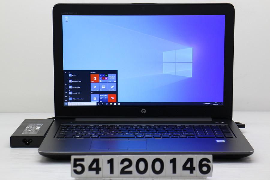 hp ZBook 15 G4 Xeon E3-1505M v6 3GHz/16GB/512GB(SSD)/15.6W/FHD(1920x1080)/Win10/Quadro M2200【中古】【20200110】