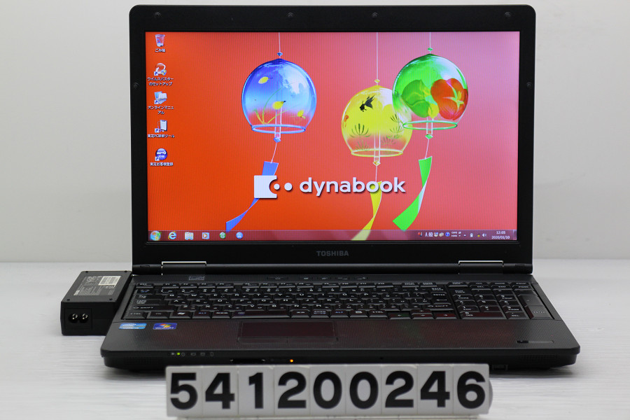 東芝 dynabook Satellite B551/E Core i5 2520M 2.5GHz/4GB/250GB/Multi/15.6W/FWXGA(1366x768)/Win7【中古】【20200111】