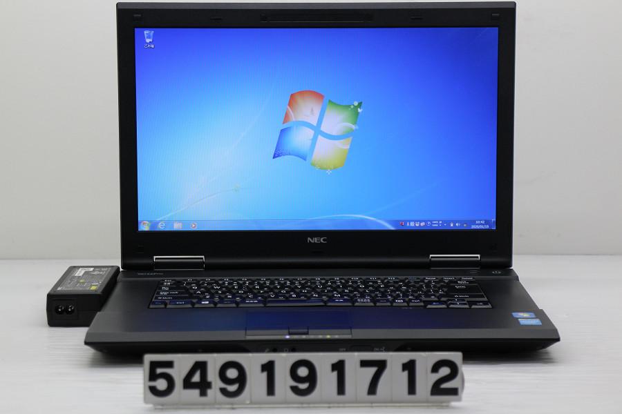 【ジャンク品】NEC PC-VK20EANCK Celeron 2950M 2GHz/4GB/500GB/DVD/15.6W/FWXGA(1366x768)/RS232C/Win7 液晶表示不良【中古】【20200116】