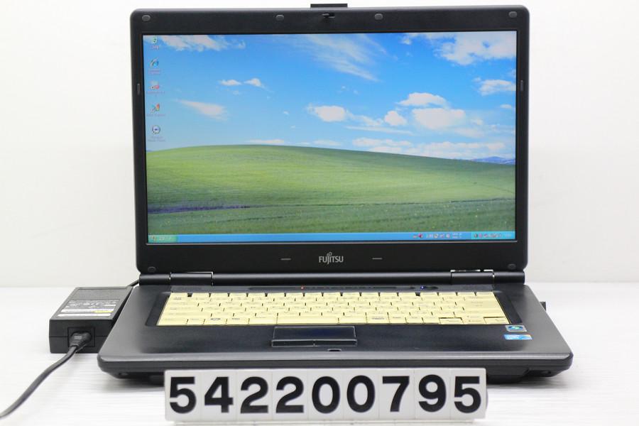 富士通 FMV-A8280 Core2Duo P8700 2.53GHz/2GB/250GB/Multi/15.6W/FWXGA(1366x768)/XP【中古】【20200304】