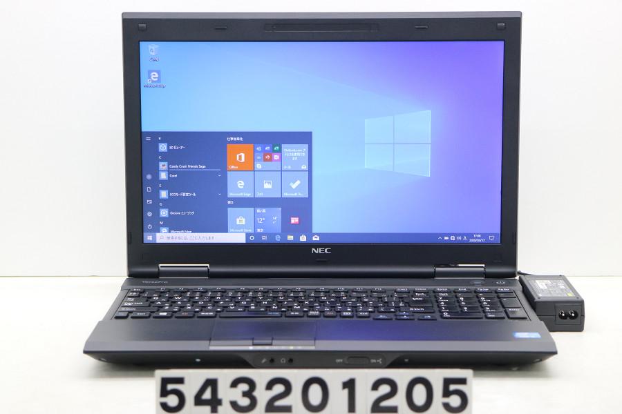 【ジャンク品】NEC PC-VK26TLZDG Core i5 3230M 2.6GHz/4GB/500GB/Multi/15.6W/FWXGA/RS232C/Win10 キーボード不良【中古】【20200319】