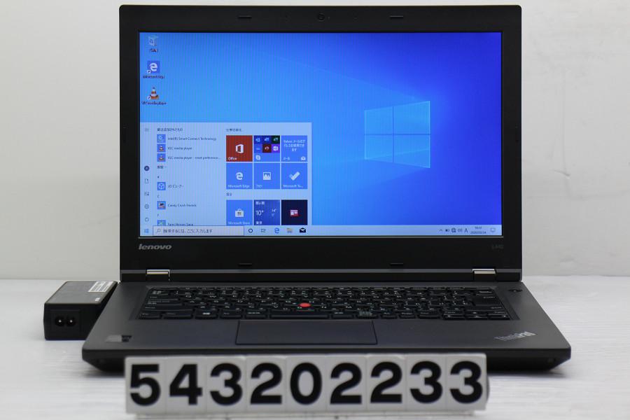 Lenovo ThinkPad L440 Celeron 2950M 2GHz/4GB/256GB(SSD)/Multi/14W/FWXGA(1366x768)/Win10【中古】【20200326】