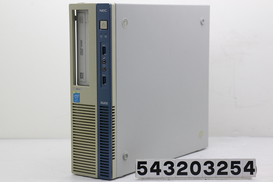 NEC PC-MK32MBZDG Core i5 4570 3.2GHz/4GB/256GB(SSD)/Multi/RS232C/Win10 フロントパネル内部爪折れ【中古】【20200402】