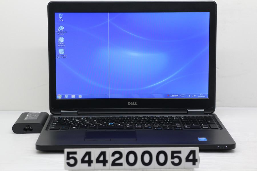 DELL Latitude E5550 Core i5 5300U 2.3GHz/4GB/500GB/15.6W/FWXGA(1366x768)/Win7 液晶ライン抜け【中古】【20200404】