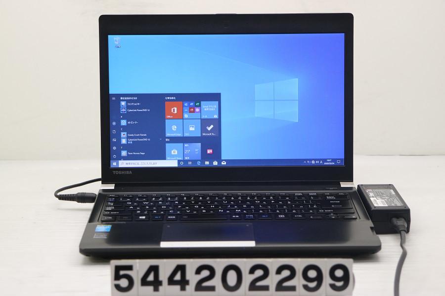 東芝 dynadook R734/M Core i5 4310M 2.7GHz/8GB/256GB(SSD)/Multi/13.3W/FWXGA(1366x768)/Win10 バッテリー完全消耗【中古】【20200509】