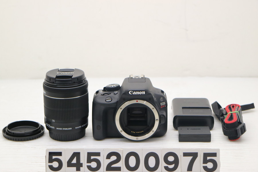 Canon EOS Kiss X7 EF-S18-55mm F3.5-5.6 IS STMレンズキット 動作簡易チェック済【中古】【20200512】