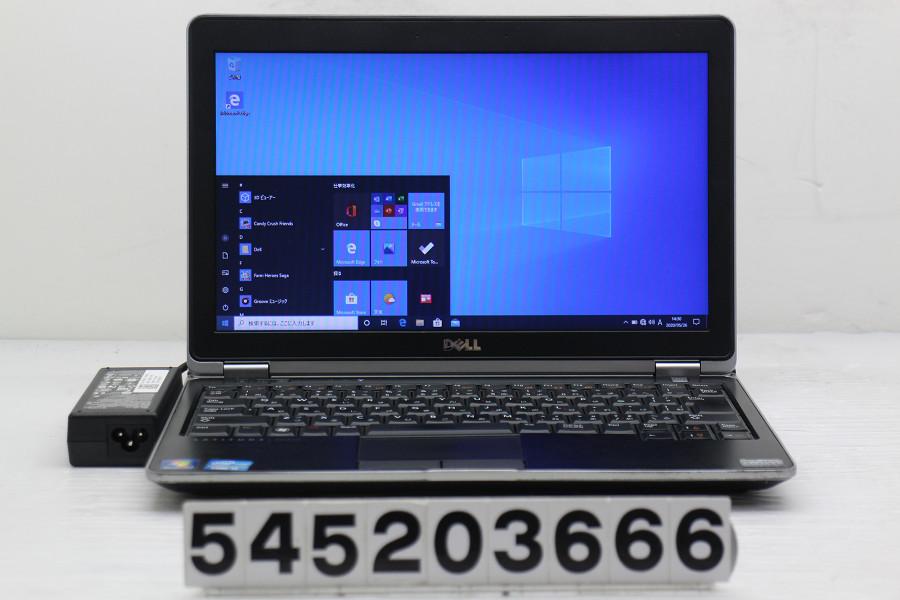 DELL Latitude E6230 Core i5 3320M 2.6GHz/4GB/256GB(SSD)/12.5W/FWXGA(1366x768)/Win10【中古】【20200527】