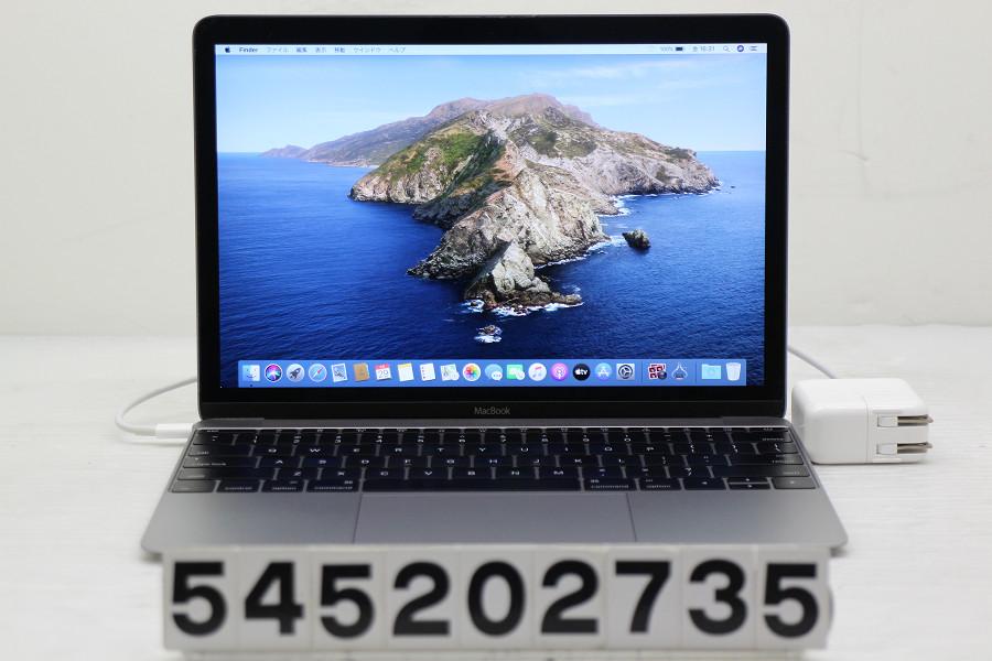 Apple MacBook Retina A1534 Early 2015 Core M-5Y31 0.9GHz/8GB/256GB(SSD)/12W/(2304x1440)【中古】【20200530】