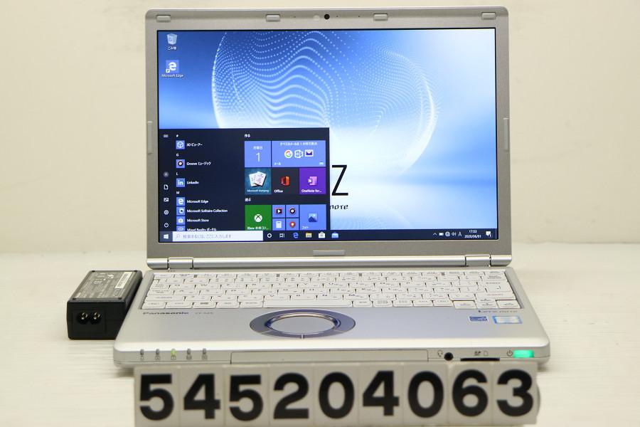 Panasonic CF-SZ5PDF5S Core i5 6300U 2.4GHz/4GB/128GB(SSD)/12.1W/WUXGA(1920x1200)/Win10【中古】【20200602】