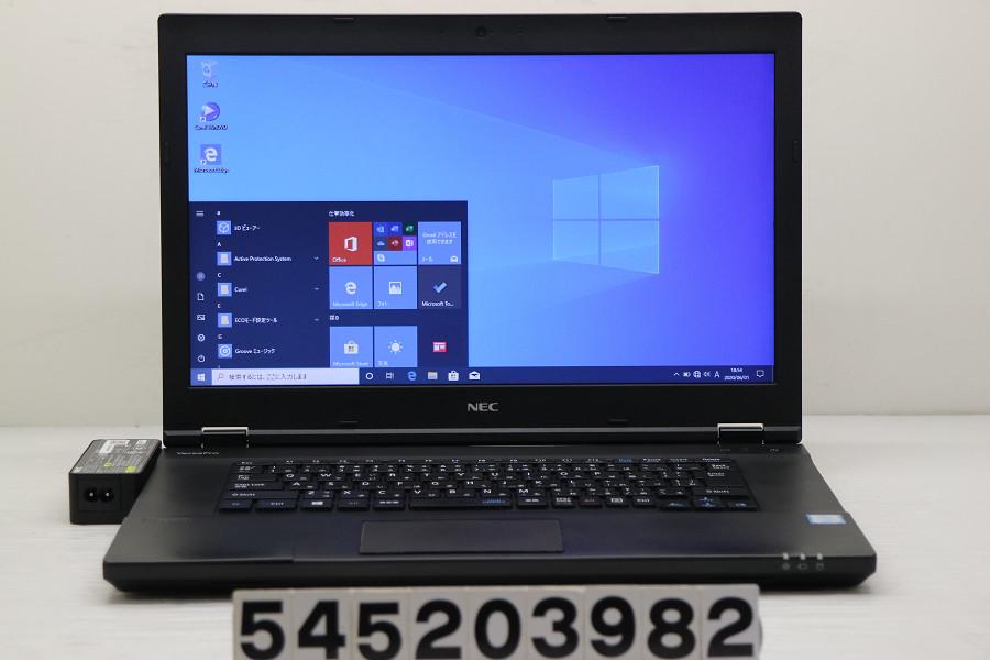NEC PC-VK23TXZGT Core i5 6200U 2.3GHz/8GB/256GB(SSD)/DVD/15.6W/FWXGA(1366x768)/RS232C/Win10 外装破損【中古】【20200603】