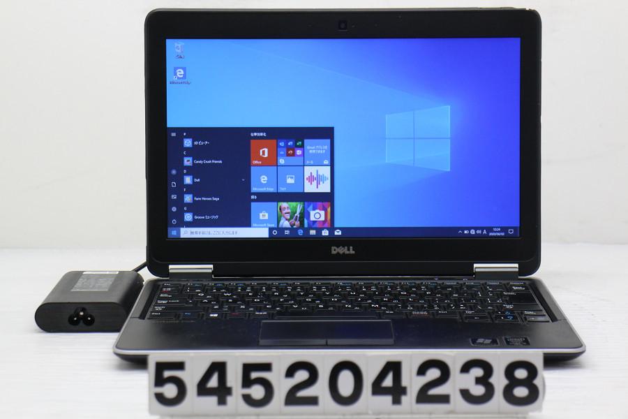 DELL Latitude E7240 Core i5 4300U 1.9GHz/4GB/128GB(SSD)/12.5W/FWXGA(1366x768)/Win10 バッテリー新品【中古】【20200603】