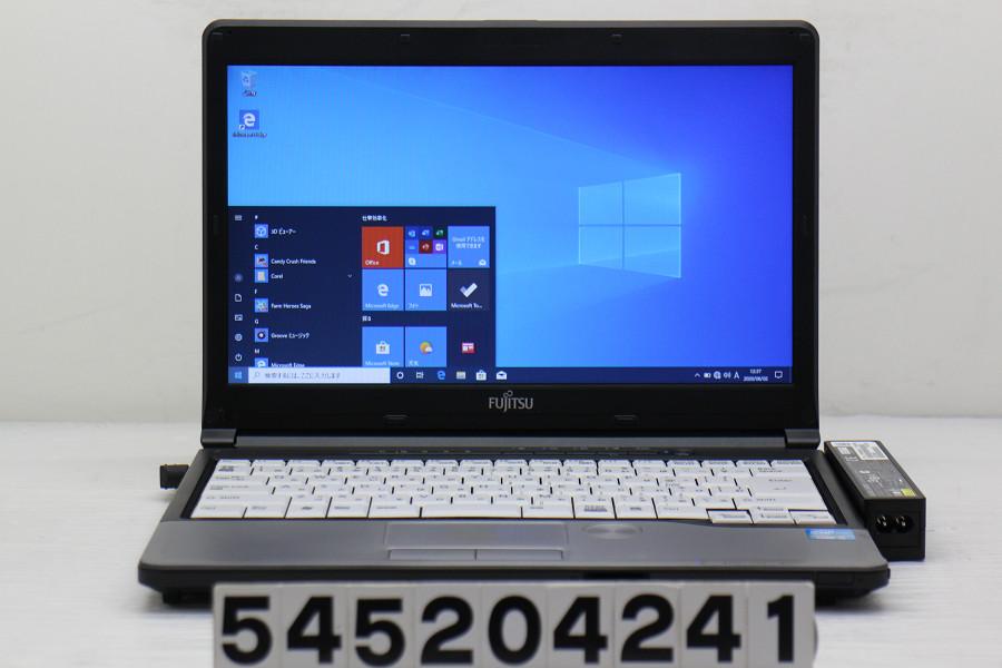 富士通 LIFEBOOK S762/G Core i5 3340M 2.7GHz/4GB/256GB(SSD)/Multi/13.3W/FWXGA(1366x768)/Win10【中古】【20200603】