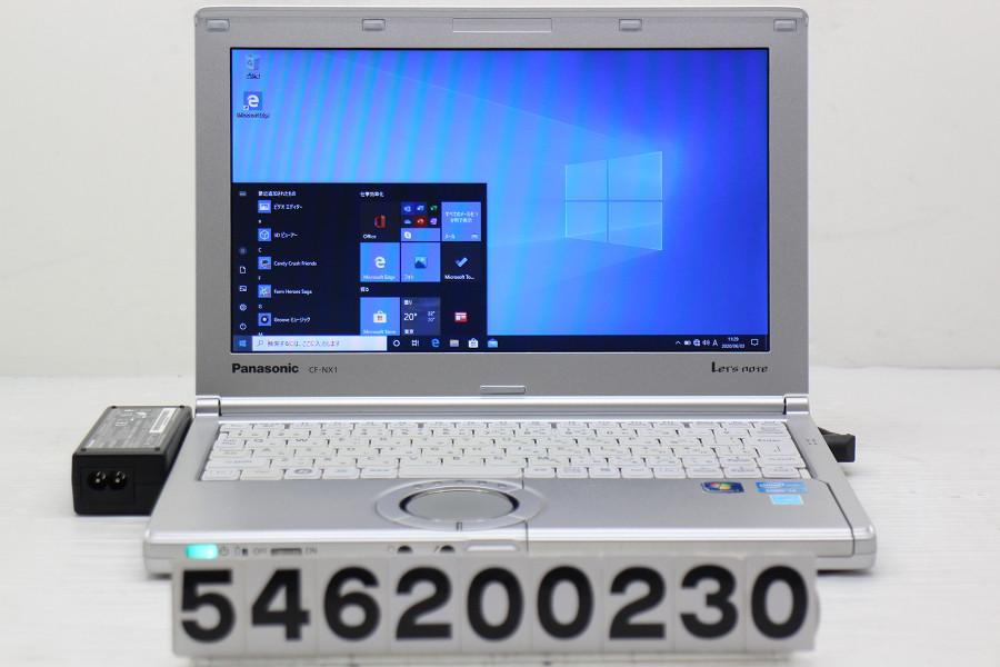Panasonic CF-NX1VWJYS Core i3 2350M 2.3GHz/4GB/128GB(SSD)/11.6W/FWXGA(1366x768)/Win10 ACエラー【中古】【20200604】