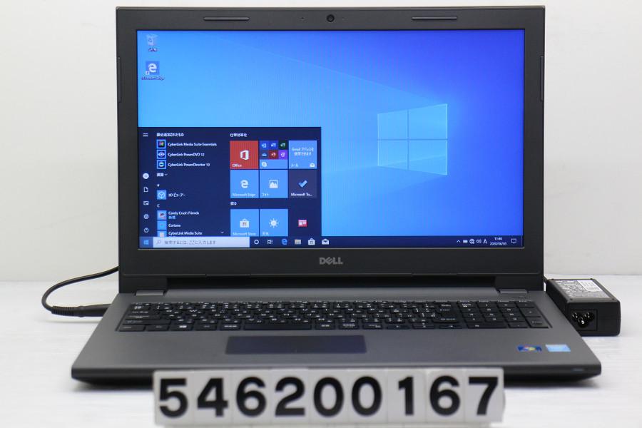 DELL Vostro 15 3549 Core i5 5200U 2.2GHz/4GB/256GB(SSD)/Multi/15.6W/FWXGA(1366x768)/Win10【中古】【20200604】