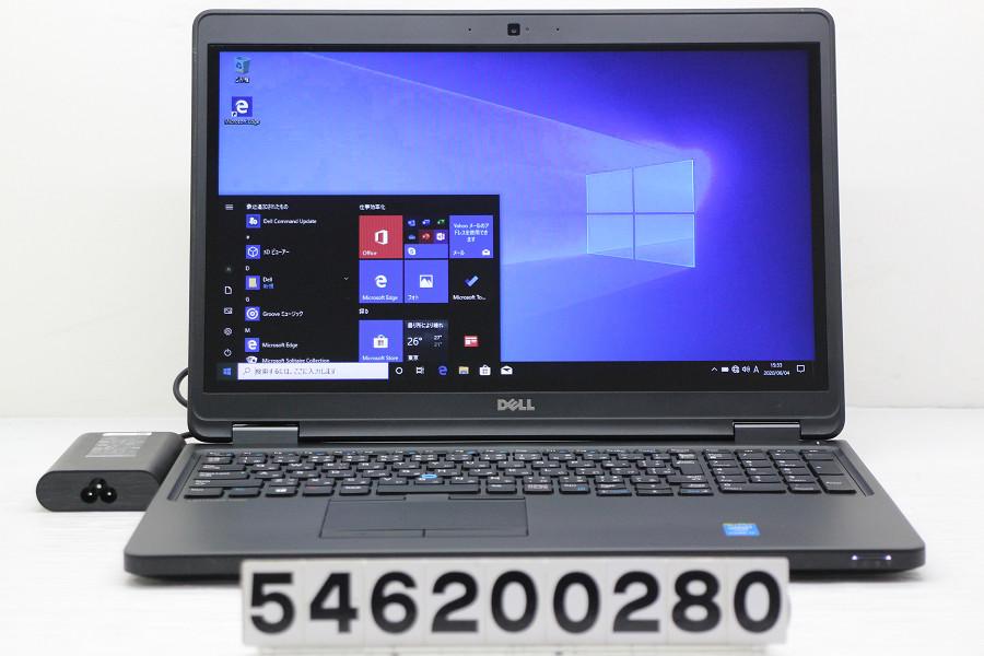 DELL Latitude E5550 Core i7 5600U 2.6GHz/8GB/256GB(SSD)/15.6W/FWXGA(1366x768) タッチパネル/Win10/GeForce 840M【中古】【20200605】