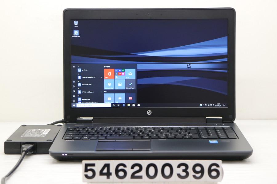hp ZBook 15 Core i7 4800MQ 2.7GHz/16GB/256GB(SSD)/Multi/15.6W/FHD/Win10/Quadro K2100M バッテリー及びCMOS完全消耗【中古】【20200609】