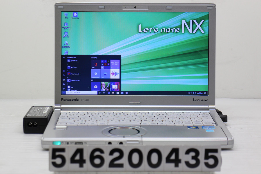 Panasonic CF-NX1GDEYS Core i5 2540M 2.6GHz/4GB/128GB(SSD)/12.1W/WXGA++(1600x900)/Win10 ACエラー【中古】【20200610】