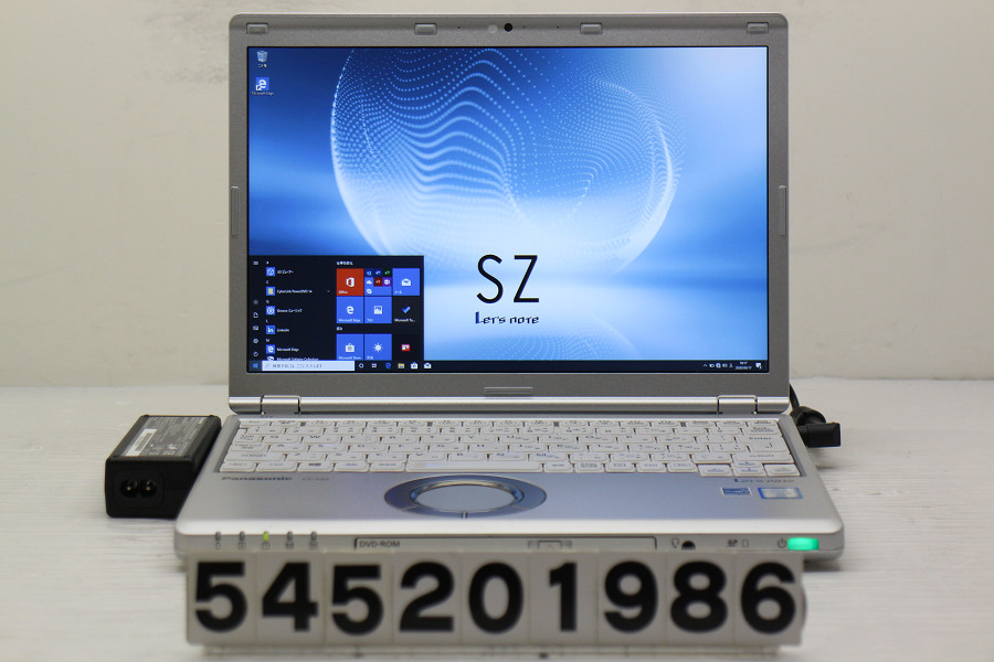 Panasonic CF-SZ5A28VS Core i5 6300U 2.4GHz/8GB/256GB(SSD)/DVD/12.1W/WUXGA(1920x1200)/Win10【中古】【20200618】