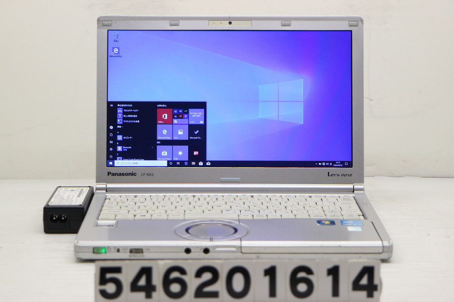 Panasonic CF-NX2ADEYS Core i5 3340M 2.7GHz/4GB/250GB/12.1W/WXGA++(1600x900)/Win10 Bluetooth不良【中古】【20200624】