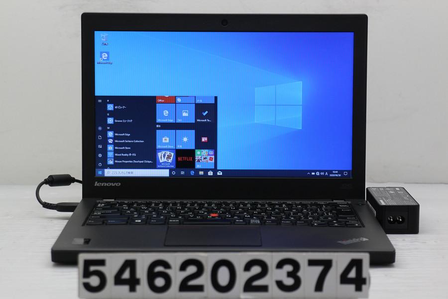 Lenovo ThinkPad X240 Core i5 4210U 1.7GHz/4GB/128GB(SSD)/12.5W/FWXGA(1366x768)/Win10【中古】【20200701】
