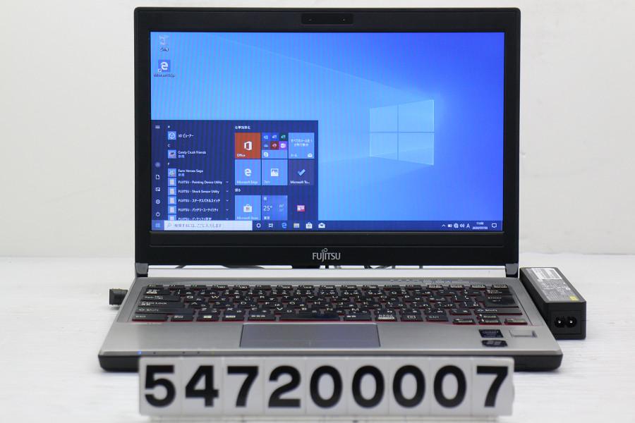富士通 LIFEBOOK E734/K Core i5 4310M 2.7GHz/4GB/256GB(SSD)/13.3W/FWXGA(1366x768)/Win10【中古】【20200704】