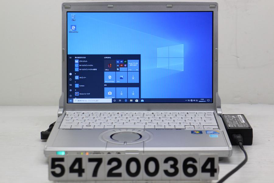 Panasonic CF-N9KWCKDS Core i5 M520 2.4GHz/3GB/128GB(SSD)/12.1W/WXGA(1280x800)/Win10【中古】【20200714】