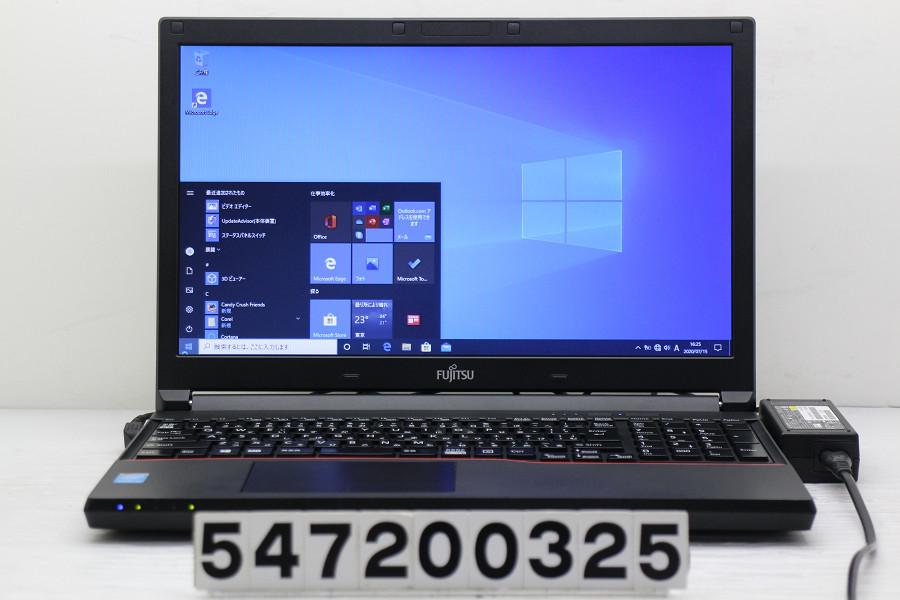 富士通 LIFEBOOK A574/KX Core i5 4310M 2.7GHz/4GB/256GB(SSD)/DVD/15.6W/FWXGA(1366x768)/Win10 バッテリー完全消耗【中古】【20200717】
