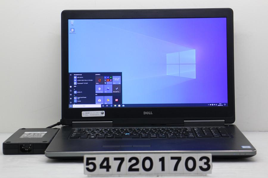 DELL Precision 7710 Core i7 6820HQ 2.7GHz/16GB/512GB(SSD)+1TB/17.3W/FHD(1920x1080)/Win10/Quadro M3000M【中古】【20200718】