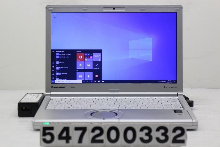 Panasonic CF-NX4EDHCS Core i5 5300U 2.3GHz/8GB/256GB(SSD)/12.1W/WXGA++(1600x900)/Win10 バッテリー新品【中古】【20200718】