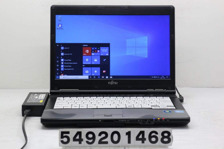 富士通 絶品 LIFEBOOK S752 F Core i5 3340M 定番スタイル 2.7GHz 4GB 128GB FWXGA Win10 SSD 中古 14W 20201010 1366x768