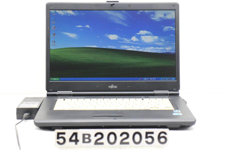 富士通 FMV-A8280 Core2Duo P8700 2.53GHz/2GB/500GB/DVD/15.6W/FWXGA(1366x768)/XP【中古】【20201126】