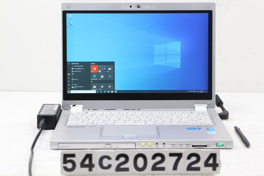 (税込) Panasonic CF-MX3J18CS Core i5 4310U 2GHz/8GB/256GB(SSD)/Multi/12.5W/FHD(1920x1080) タッチパネル/Win10【20210106】, カラコンウィッグ@キュティア 54daf107