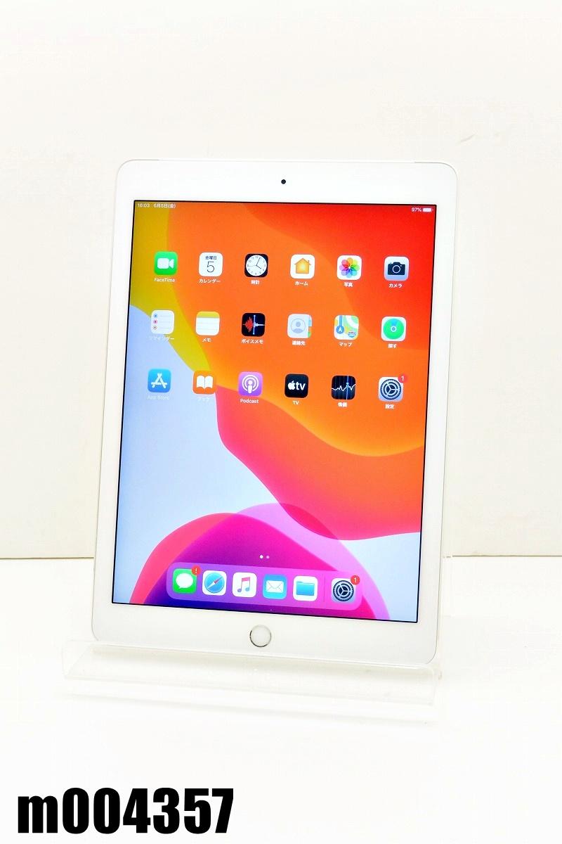 白ロム docomo SIMロック中 Apple iPad Air2+Cellular 16GB iPadOS13.5.1 Silver MGH72J/A 初期化済 【m004357】 【中古】【K20200606】