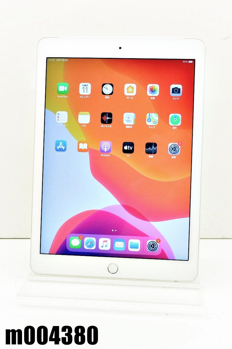 白ロム docomo SIMロック中 Apple iPad Air2+Cellular 16GB iPadOS13.5.1 Silver MGH72J/A 初期化済 【m004380】 【中古】【K20200611】
