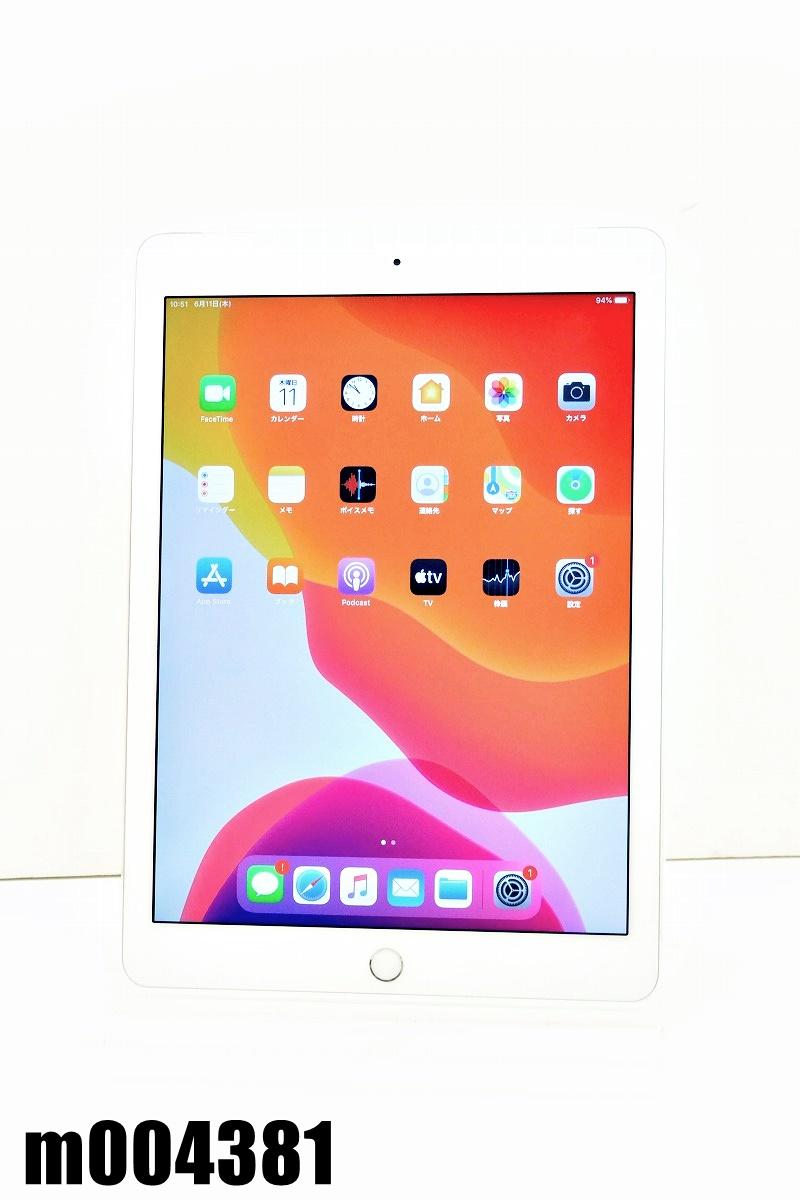白ロム docomo SIMロック中 Apple iPad Air2+Cellular 16GB iPadOS13.5.1 Silver MGH72J/A 初期化済 【m004381】 【中古】【K20200611】